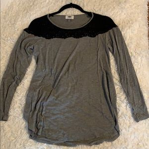 Old Navy Grey Shirt Small